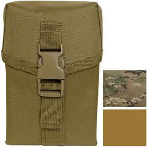 Tactical Ammo Pouch MOLLE II Saw Straps Buckle Attachment 100 / 200 Round