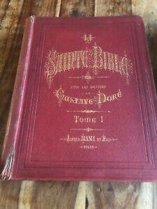Livre La Sainte Bible Tome 1 Et 2 Dessins Gustave Doré