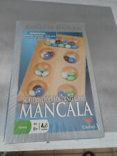 Classic Mancala Solid Wood Folding Game Cardinal NEW/SEALED AGES 8+