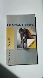 Livre Le Misanthrope Molière Hachette