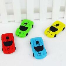 Eraser Stationery School Office Car Shape Mould Pencil Rubber Party Gift Brand