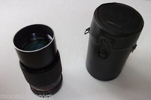 Pantel Sigma Zoom 35mm SLR Camera Lens With Case - 1:2.8 135mm - FREE SHIPPING