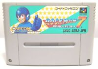 Rockman 7 / Mega Man 7 Nintendo Super Famicom / SNES SFC Capcom Japan Game
