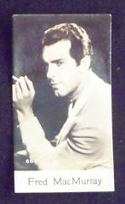 Fred MacMurray 1935 De Beukelaer Cookies (Belgium) Film Star Card #662