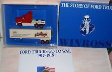 1991 History of Ford Trucks #3 1918 War Winross Diecast Delivery Trailer Truck