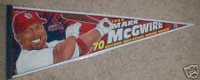 1998 Mark McGwire Cardinals 70 Home Runs Pennant