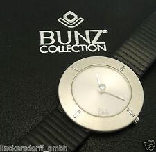 Bunz design brillante occupato IN PLATINO CON SCATOLA & CERTIFICATO grande esecuzione!