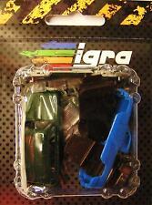 H0 2 x automóviles skoda 1200/1 combi pickup azul verde kit kucera RDA VW del este