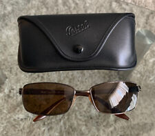 Persol Sunglasses Metal Frame Brown 2192-S 618/47 58:16 130 ITALY
