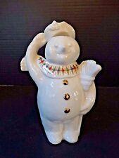 Lenox Snowman Figurine Jewels ~ Jolly Snowman ~ 1995 ~ Porcelain