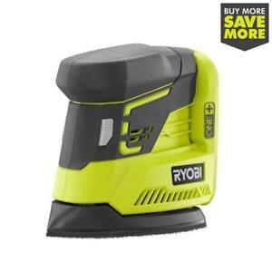 New Ryobi P401 - 18-Volt ONE+ Cordless Corner Cat Finish Sander - Tool Only