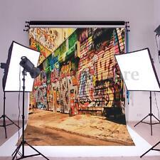 Kids Graffiti Wall Photography Backdrop Huge Art Silk Poster Photo Background
