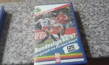 GERMAN BUDESLIGA 86-87 VIDEO CASSETTE VHS BILD ALMANAC