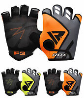 RDX Weight Lifting Gloves Gym Training Bodybuilding Workout Fitness Exercise