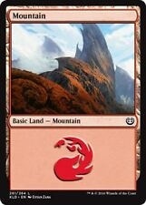 4 x Mountain (261/264) - Kaladesh - Magic the Gathering MTG Basic Land