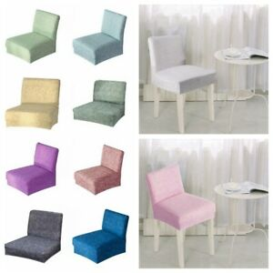 Blesiya Stretch Spandex Low Back Chair Seat Cover Bar Stool Slip Covers
