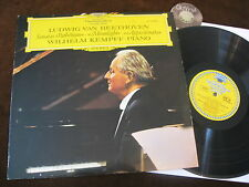 Beethoven LP Kempff Sonatas Moonlight pianoforte Sonata Yugoslavia 1965 | m-to EX