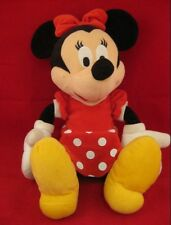 Minnie Mouse Plush Red Dress Yellow Shoes Heals Mickeys gal 25P19 Stuffed Animal