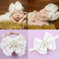 USA Cute Girl Newborn Baby Toddler Infant Flower Headband Headwear Accessories