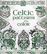Usborne Celtic Patterns to Color (pb)  Celtic art designs NEW