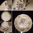 Plat en faïence / Céramique / Porcelaine / Assiette décorée