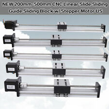 CNC Linear Rail Guide Slide Stage Actuator Ball Screw Motion Table 42/57 Stepper