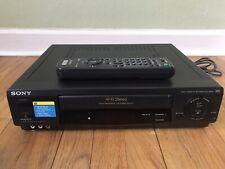 Sony Slv-688Hf Vhs Vcr W/ Remote