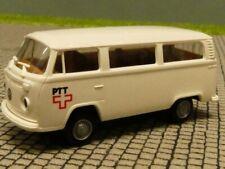 1/87 Brekina VW T2 PTT weiß CH Schweiz Bus
