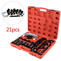Universal 21Pcs Ball Joint Separator Auto Repair Tool Remover Master Adapter Set