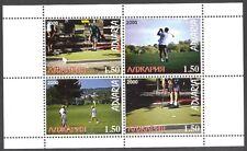 ADJARIA (Russia local) 2000 Golf Sheet MNH** Privat