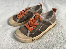 Merrell Boys Brown Suede Tennis Shoes Size 11 Youth Sc8