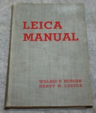 VINTAGE LEICA MANUAL FIRST EDITION 1935