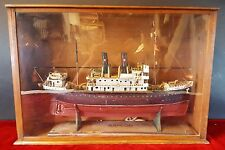 MODEL OF SAILBOAT ARAGON. WOOD. SPAIN (?) FIRST THIRD 20TH CENTURY.
