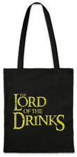 The Lord Of The Drinks Shopper Shopping Bag Fun Rings Party Alcohol Drunk Drink