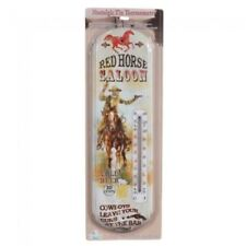 Gift Corral Red Horse Saloon Thermometer Horse Tack Equine 87-82217