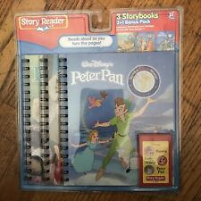 Disney Story Reader 3 Books Peter Pan, Lady And The Tramp, Bambi 2003 New