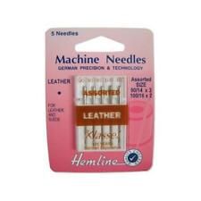 Hemline Sewing Machine Needles - Leather Assorted 90/100 H104.99