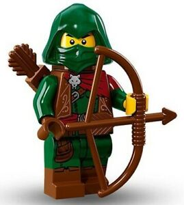 LEGO 71013 Rogue SEALED Collectible Minifigures Series 16 CMF archer hood