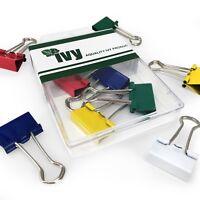 Ivy - Colorato Ripiegabili Clip - Confezione da 5 - 19mm - PAP003IP