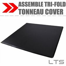 Lock Soft Tri-Fold Tonneau Cover For 2009-2018 Ford F-150 5.5'Short Bed Assemble