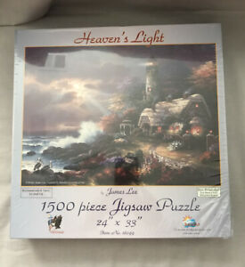 New 'Heaven's Light By James Lee 1500 Jigsaw Puzzle Pieces