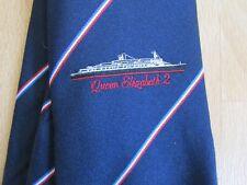 QE2 Queen Elizabeth 2 crucero corbata por Country Club