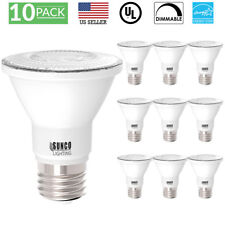 SUNCO 10 PACK PAR20 FLOOD LED BULB 7W (50W) 470 LUMEN 2700K SOFT DIMMABLE