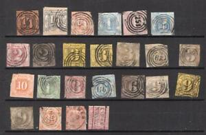German Colonies - Small Lot of Seconds - No Reserve!