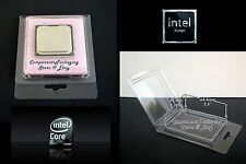 Intel CPU Storage Case fits Processors up to 63.5 x 54 x 9.6 mm - Qty 20 New