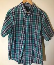 "CHAPS RALPH LAUREN ""PLAID"" FLANNEL SHIRT SIZE LARGE"