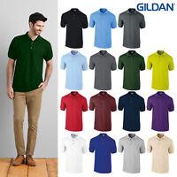 Gildan Ultra Cotton Ringspun Adult Pique Polo 3800-Short Sleeve Collar Casual T