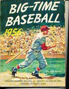 1956 Don Moran Big  - Time Baseball Book BBMag11