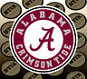 Alabama Crimson Tide Logo NCAA Die Cut Vinyl Sticker Car Window Bumper Decal