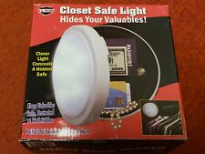Hidden Closet Safe Home Security Light Hide Money Jewelry Valuables in House NEW
